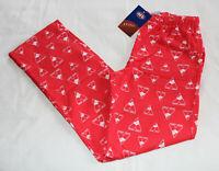 Sydney Swans AFL Mens AF9040S W20 Red Printed Flannel Sleep Pants Size S New