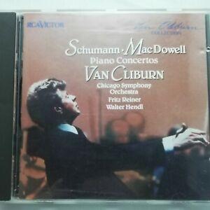 Schumann / MacDowell: Piano Concertos / Van Cliburn / RCA Victor CD GD60420