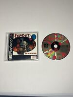 Loaded - PlayStation 1 PS1 Black label jewel case variant manual/game only!