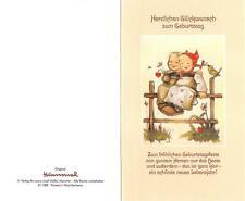 """RARITÄT Original Hummel Faltkarte um 1970 Ars sacra Verlag """"3999""""mit Umschlag"""