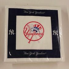 MLB 48 Team Napkins, New York Yankees, NEW