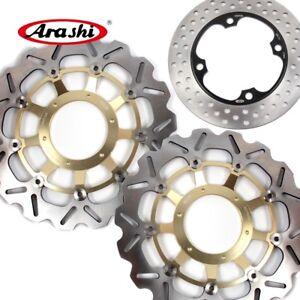 Set Brake Discs Rotors Fits Honda CBR1000RR 2004 2005 CBR1000 CBR600RR 2003-2015