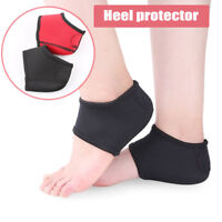 2Pcs Foot Ankle Pads Cushion Plantar Fasciitis Pain Relief Heel Arch Support Wra