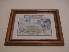 NOTRE DAME REDEDICATION OF FOOTBALL STADIUM SEPT 6, 1997 SPORTS FRAMED PICTURE
