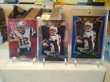 Tom Brady Lot of 3 Select Cards