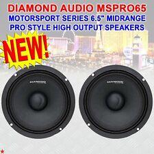 "Diamond Audio TX69v TXblack Series 6/""x9/"" Convertible Component Speaker System"