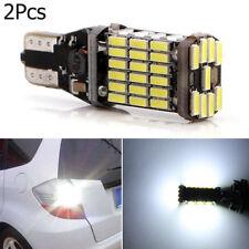 2PCS T15 W16W 45 SMD 4014 sans erreur Ampoule arrière de voiture Canbus LED