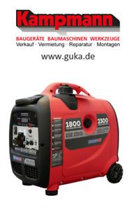 Endress ESE 2300i Silent Benzin Stromaggregat Stromerzeuger Strom 110007