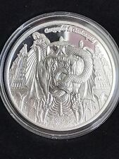 Silver Gargoyles And Grotesques DECAY PROOF COIN ONLY 200 Minted Daily Deal