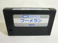 MSX BOOMERANG Cartridge only Import Japan Video Game msx