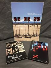 Depeche Mode 101, Videos 86 98 And The Singles Tour 86 98 Book Collection