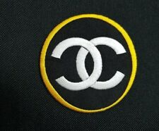 Chanel Embroidered Iron Sew On Patch Costume T Shirt Bag Badge  Make up Brand