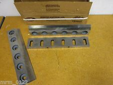 "Zenith Cutter Co. K53177Z1 B11 And K53178 A11 Granulator Blades 17-7/8"" Long New"