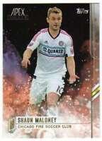2015 Topps APEX MLS Soccer #72 Shaun Maloney  Chicago Fire Soccer Club