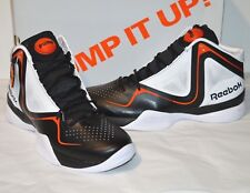 New Reebok Pump Pumpspective Omni Black/White/Orange/Green sz 12 Rare Twilight