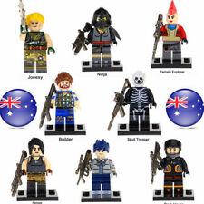 8pcs Fortnite Battle Royale Building Blocks Figures Game Collection Kids Toy
