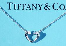 Tiffany & Co Paloma Picasso Argento Sterling TENEREZZA piccolo cuore collana.