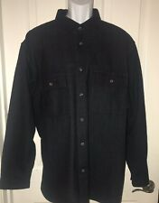 FIELD & STREAM Gray Heavy Flannel Long Sleeve Shirt  Mens XL X-Large