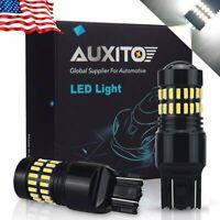 AUXITO 2X 7440 7443 6000K Backup Reverse LED Light Bulb Hi Power 4014SMD 2400LM