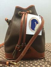 NWT*Dooney & Bourke*R758 Vintage Drawstring Bag/Purse/Shouder Bag #16137A