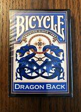 Bicycle Blue Dragon Back Standard Index Playing Cards - 1 deck Brand New Sealed