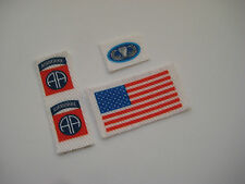 G.I. Joe/Action Man - U.S. Paratrooper Fabric Uniform Stickers - B2G1F