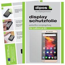 2x LeEco Le S3 Schutzfolie matt Displayschutzfolie Folie dipos Displayfolie