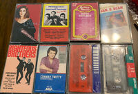Cassette Tapes Lot Of 8