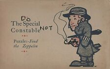 WW1 Military Art Comic Patriotic Special Constable