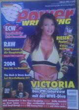Poster Undertaker Royal Rumble Lilian Garcia Eugene Power Wrestling 2/2005 WWE