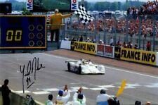Yannick Dalmas BMW V12 LMR Winner Le Mans 1999 Signed Photograph