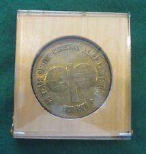 1978 6th All-Christian Peace Assembly Prague Medallion