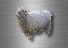 Autocollant sticker voiture moto decoration murale mouton ferme animal animaux