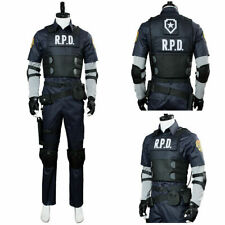 Resident Evil 2 Remake Biohazard Re:2 Leon Scott Kennedy Police Cosplay Costume