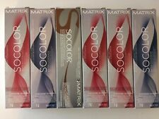ONE TUBE OF MATRIX SOCOLOR BLENDED COLLECTION HAIRCOLOR 3oz YOUR CHOICE NEW!