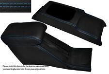 BLUE STITCH CONSOLE & ARMREST SKIN COVERS FITS HONDA CIVIC EG6 EG9 EJ1 92-95