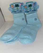Earth Therapeutics Aloe Socks Blue - 1 Pair Lot Of Two