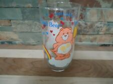 VINTAGE FRIEND BEAR-CARE BEARS-COLLECTORS GLASS-RAINBOW-POPSICLE-HEARTS-STARS