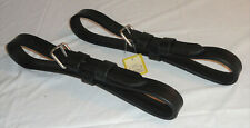 Set Ideal Equestrian Leathertech Leather Driving Full Size Harness Pole Straps