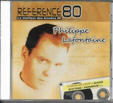 CD PHILIPPE LAFONTAINE REFERENCE 80 19T BEST OF DONT MAXI ET REMIX NEUF SCELLE