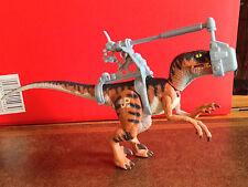 Jurassic Park El Mundo Perdido JP06 Velociraptor Figura Kenner Hasbro 1997 Raptor