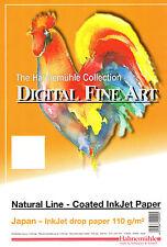 Inkjet Paper Hahnemuhle Fine Art 'Japan' Natural Line A4, Free Postage