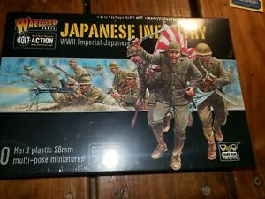 28mm Warlord Games Japanese Infantry Bolt Action WW2 BNIB