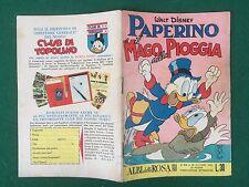 ALBI DELLA ROSA n.416 (Ottobre 1962) PAPERINO MAGO PIOGGIA Originale MB Disney