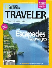 NATIONAL GEOGRAPHIC TRAVELER n°12 2018  Escapades sauvages: Grand Nord, Quebec