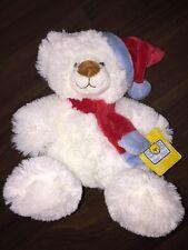 Bob Der Bär Kaufhof Plüschtier Kuscheltier Teddybär Stofftier Eisbär Weiß Rot