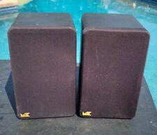 Vintage Miller & Kreisel M&K S-3B Satellite Surround Speakers Pair