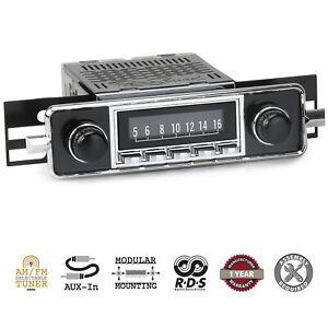 1958-67 Volkswagen Beetle VW Laguna RetroSound Radio AM/FM AUX RetroRadio Stereo