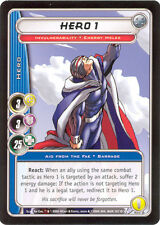 City of Heroes CCG 70-Card Tourney Deck (Hero 1)