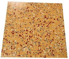 Densely Speckled Heavy Duty Compressed Quartz Reinforced Vinyl Floor Tiles 300mm